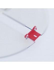 CERNIERA in plastica per coperchio smelatore RADIAL 9 LEGA