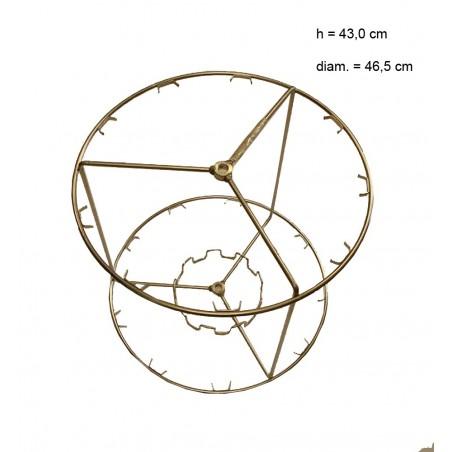 SMELATORE serie 2008-9/3 radiale con cestello inox per 9 favi da melario