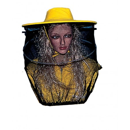 Round beekeeper HAT with tulle voile