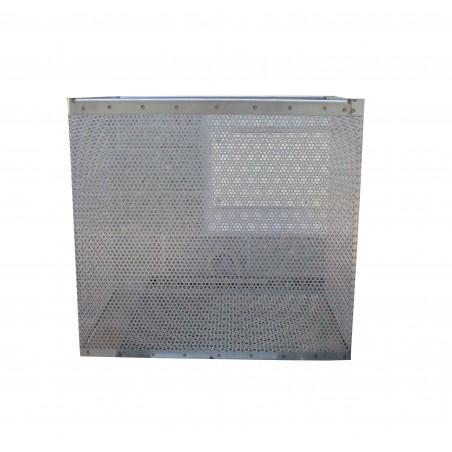 SCERATRICE inox a vapore senza fornello per 32 favi da nido D.B