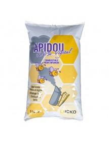 Apidou combustible para ahumador de pellets para apicoltura -5 Kg