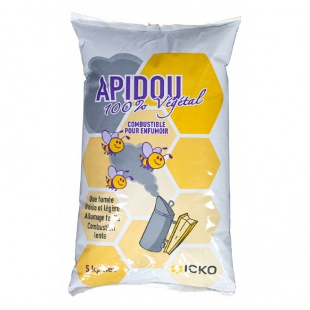 APIDOU COMBUSTIBILE NATURALE IN PELLET PER AFFUMICATORE - 5 Kg