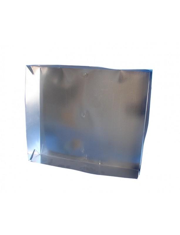 TETTO a scatola 4 pieghe  in lamiera zincata   per arnie da 12