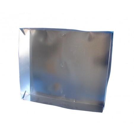TETTO a scatola 4 pieghe in lamiera zincata per arnie D.B. da 12 favi