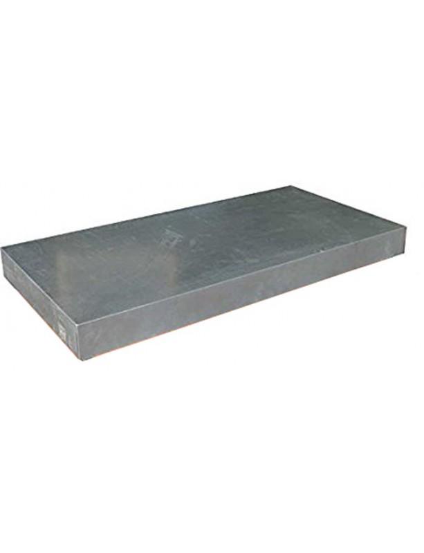 TETTO a scatola  in lamiera zincata per cassone rivestito in legno