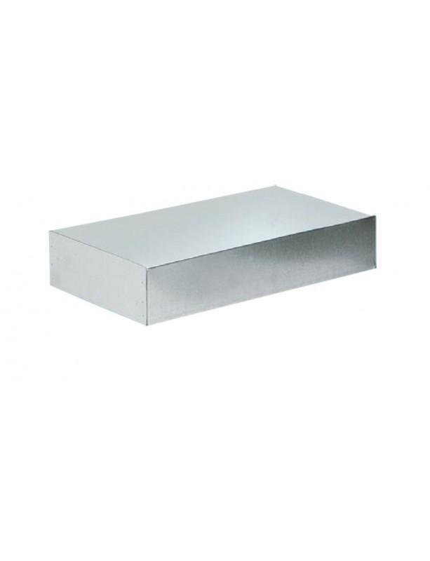 TETTO a scatola elettrosaldato in lamiera zincata per arnie da 6