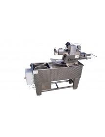 BANCO inox per disopercolare professionale con centrifuga completo di DISOPERCOLATRICE