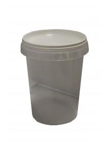 Vaso in plastica da 500 g
