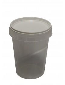 Vaso in plastica da 250 g