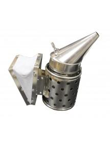 Enfumoir pour apicolture GALVANISÉ LISSE 2HF diamètre 10 cm avec protection