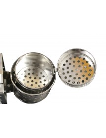 Galvanized smoker for beekeeping diameter cm 10