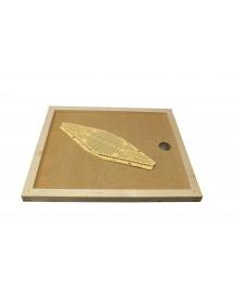 APISCAMPO su tavoletta con risalita cm43x50 con disco apiscampo a due vie