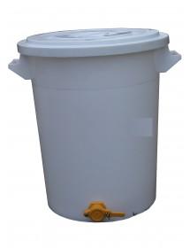 MATURATORE in PLASTICA per MIELE con RUBINETTO da 100 Kg