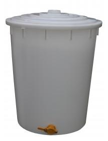 MATURATORE in PLASTICA per MIELE con RUBINETTO da 200 Kg