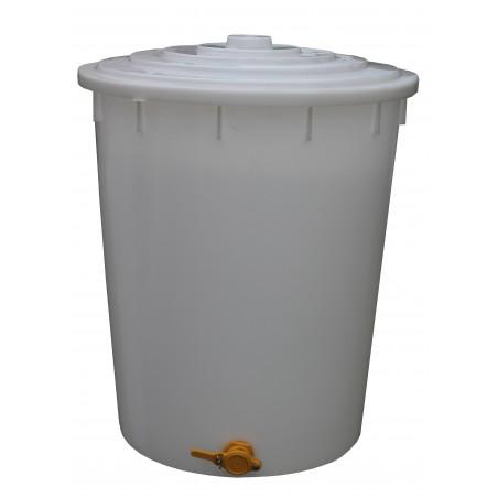MATURATORE in PLASTICA per MIELE con RUBINETTO da 400 Kg