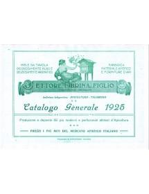 ETTORE LIBRINA - CATALOGO GENERALE PER APICOLTURA -1925