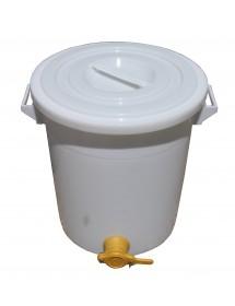 MATURATORE in PLASTICA per MIELE con rubinetto da 50 Kg