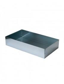 TETTO a scatola 4 pieghe in lamiera zincata  per arnie D.B. da 10 favi
