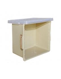 Ahumador de apicultura en acero inoxidable con protección diámetro 10 cm