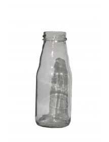 BOTTIGLIA in vetro per SUCCO 200 ml con CAPSULA BIANCA