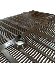NEW PROPOLIS COLLECTION SCREEN ANEL FOR BEEHIVE D.B. WITH HOLES FOR FEEDING