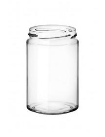 VASO in vetro CILINDRICO SIMPLY 370 ml T70 per  MIELE 500 g