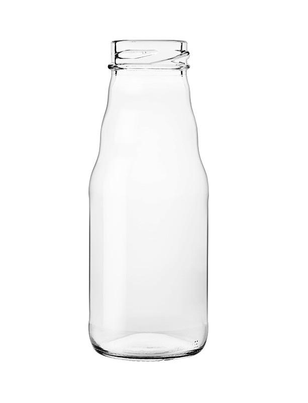 BOTTIGLIA in vetro per SUCCO FRUTTA  200 ml con CAPSULA Twist-Off T 38