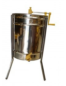DADANT RADIAL HONEY EXTRACTOR, MANUAL DRIVE for 12 super frames, STAINLESS BASKET