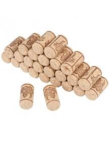 """TAPPO di SUGHERO """"Agglomerato"""" per bottiglie di vino impermeabili ⌀ 23 x 38 mm - Conf. 100 pezzi"""