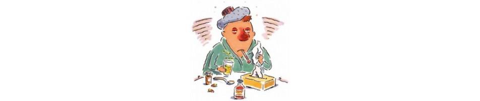 Influenza, tosse, raffreddore e mal di gola